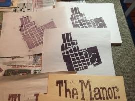 ManorMapOnPaper