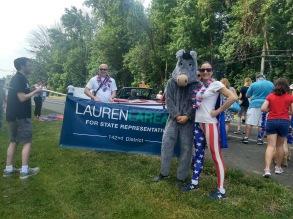 Lauren Donkey Banner