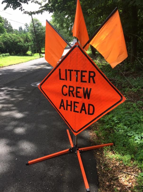 litter crew sign bigger