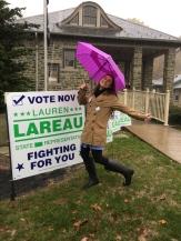 lauren by her sign