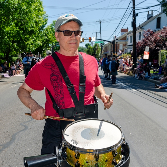 Joe Vitalla, LMDC, Langhorne Memorial Day Parade, May 27, 2019