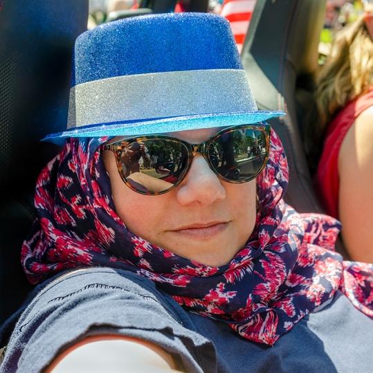 Lynn Barry, LMDC, Langhorne Memorial Day Parade, May 27, 2019