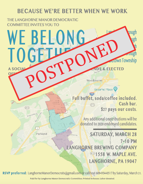 We Belong Together - March 28 POSTPONED